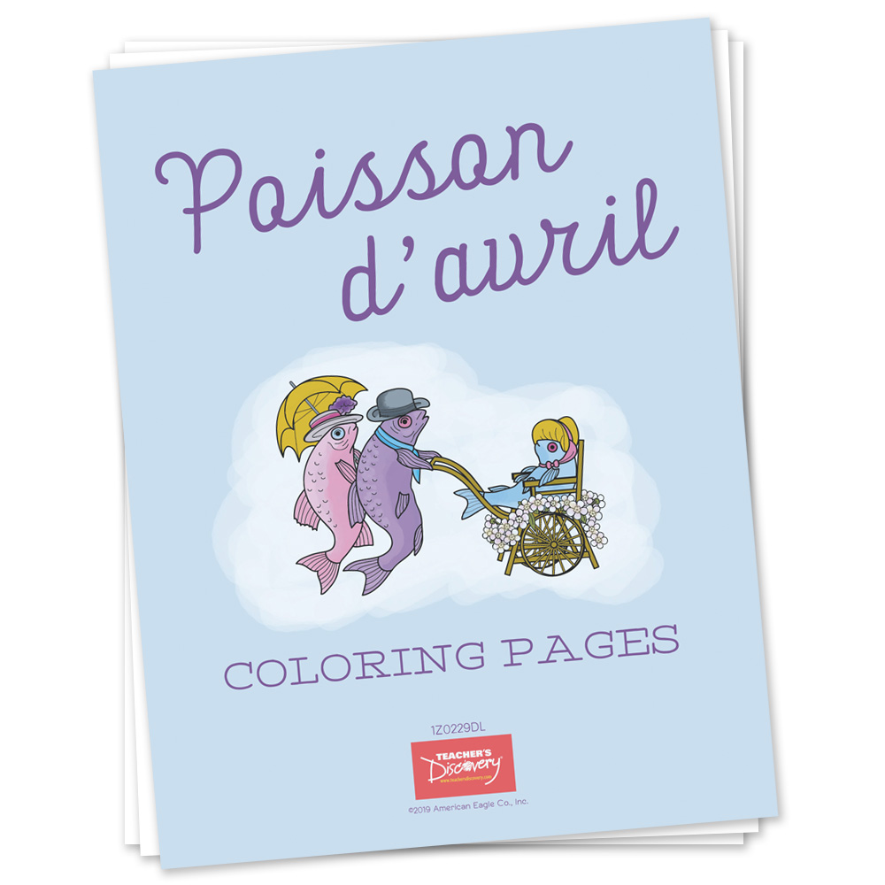 Poisson d'avril Coloring Pages Download