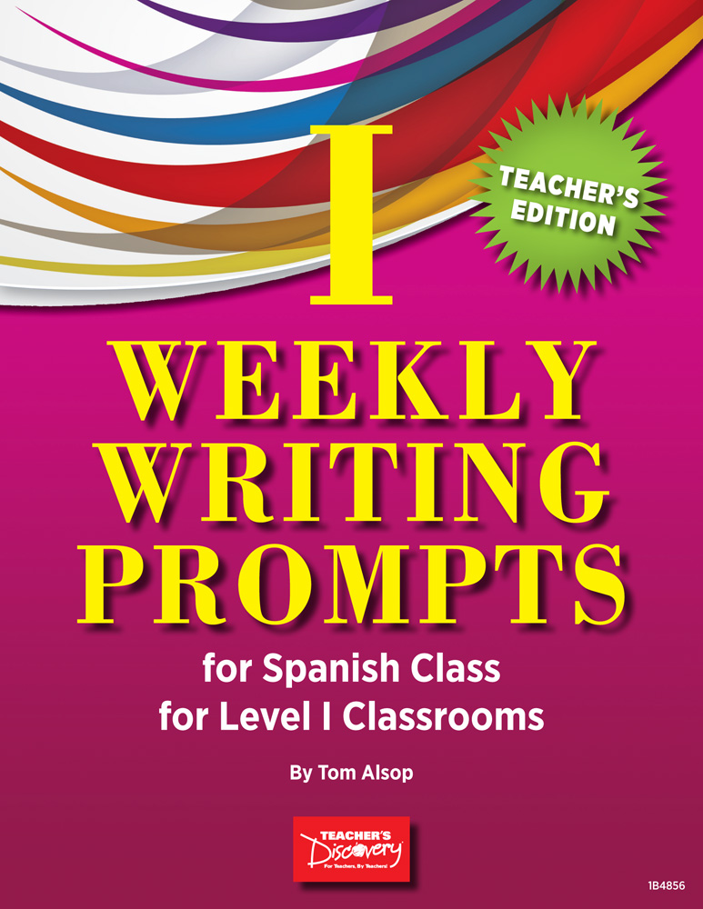 Weekly writing prompts for spanish level 1 book books teachers weekly writing prompts for spanish level 1 book fandeluxe Images