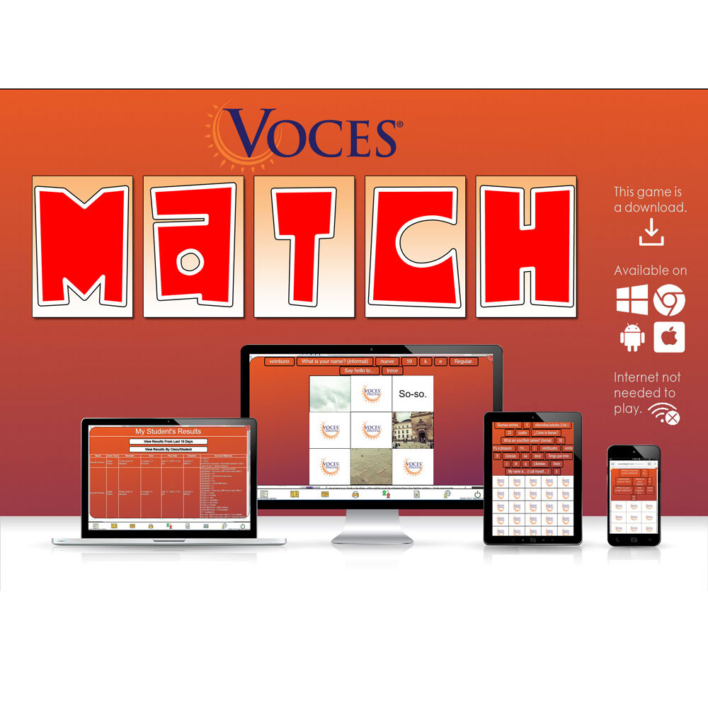 Voces® Match Game Download