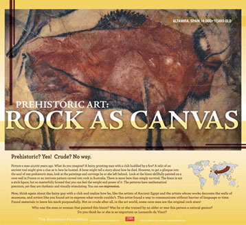 Prehistoric Rock Art Traveling Exhibit