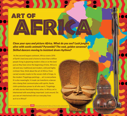 African Art Traveling Exhibit