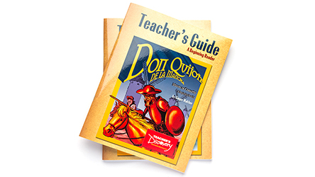 Don Quijote de la Mancha Spanish Level 1 Graphic Reader Teacher's Guide