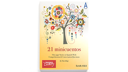 21 Minicuentos Spanish Level 1 Student Reader