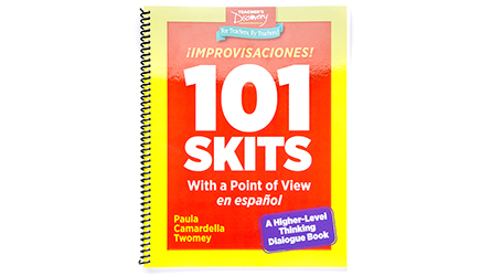¡Improvisaciones! 101 Skits with a Point of View en español Book