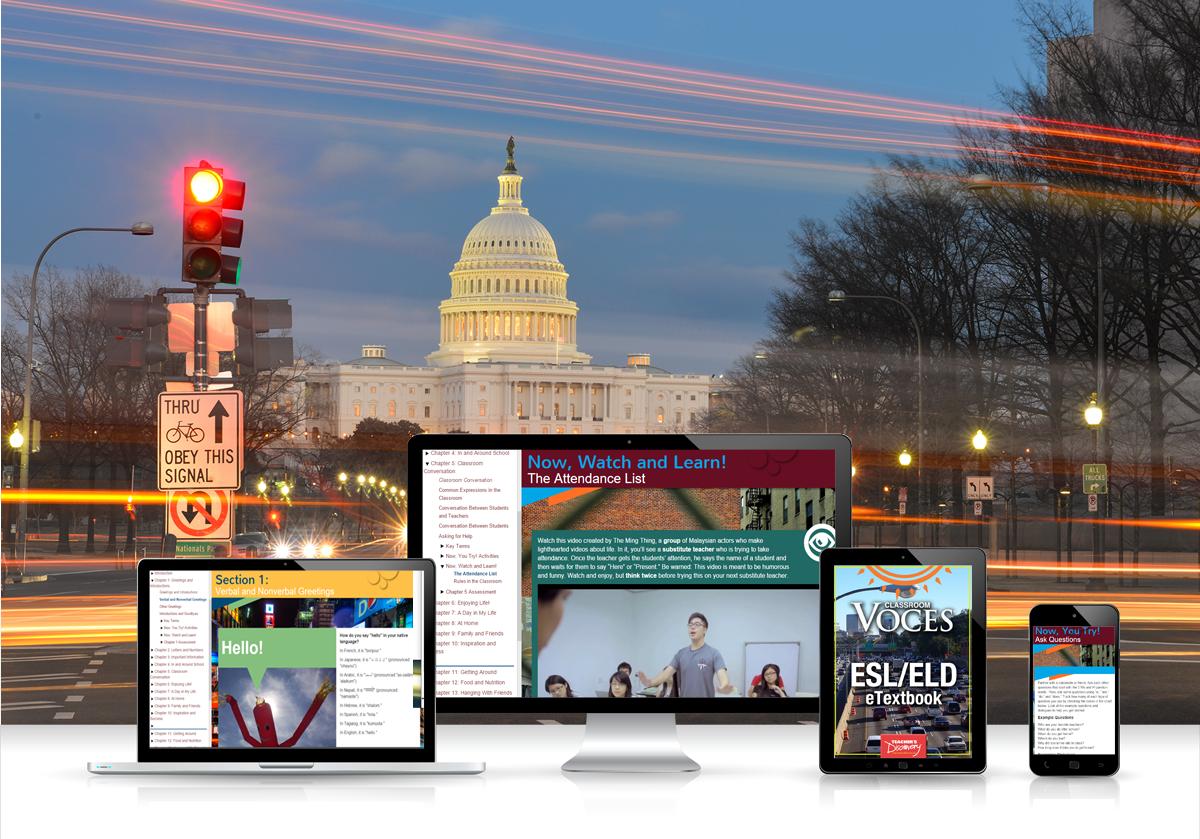 Voces® ESL/ELD Digital Resource Subscription