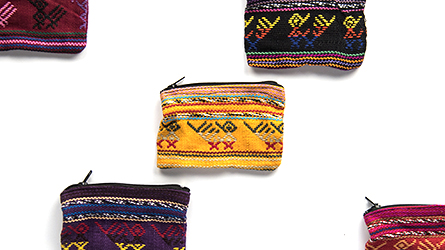 Mini Woven Pouch from Guatemala