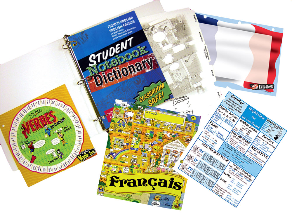 Complete Deluxe French Starter Binder