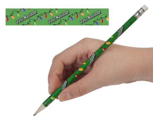 Spanish Christmas Pencils