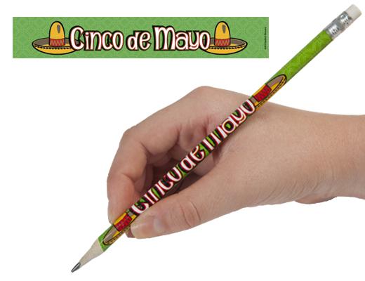 Cinco de Mayo Enhanced® Pencils