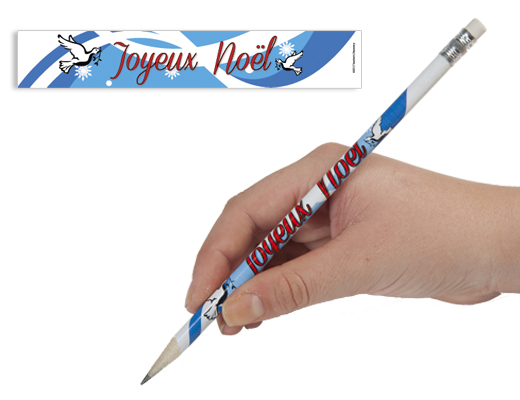 French Christmas Enhanced™ Pencils