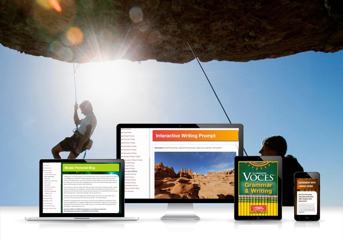 Voces® ELA Grammar & Writing Digital Resource Subscription