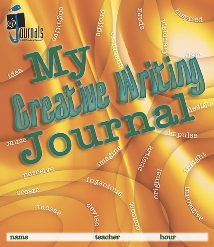 My Creative Writing Journal Print Set of 30