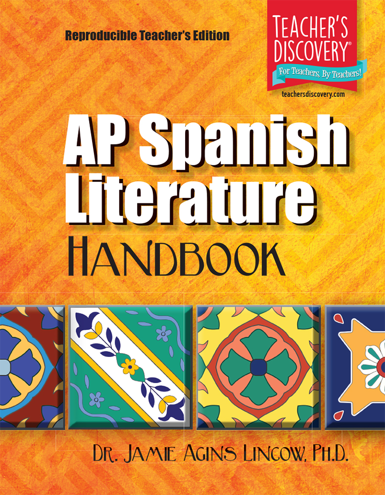 AP Spanish Literature Handbook  - AP Spanish Literature Handbook Reproducible Teacher's Edition