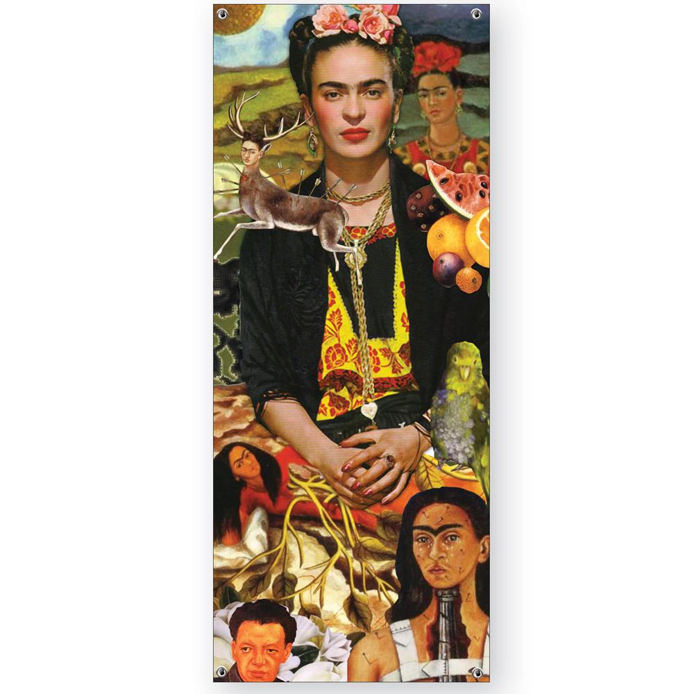 Frida Kahlo Vinyl Banner