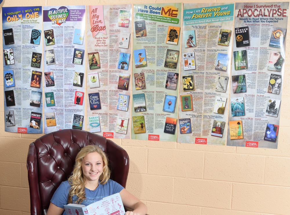 YA Novels to Read Poster Set—6 Posters