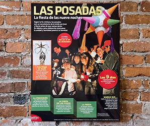 Las posadas Infographic Poster