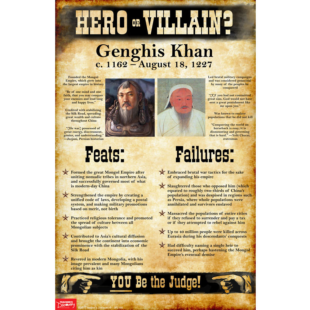 Genghis Khan: Hero or Villain? Mini-Poster