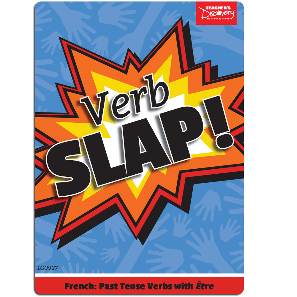 Verb Slap! French Games - Verb Slap! French Past Tense Étre Verb Game