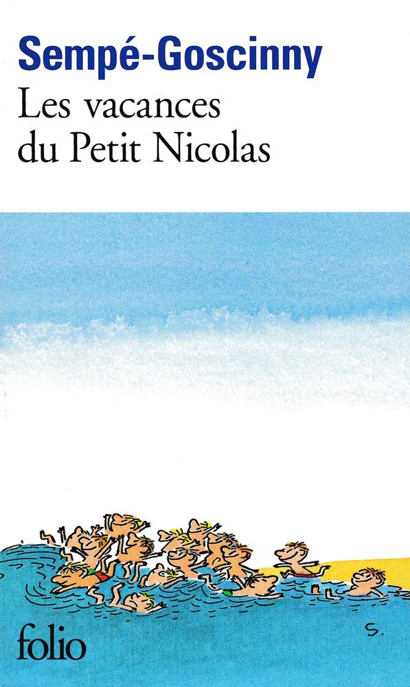 Les vacances du petit Nicolas French Book