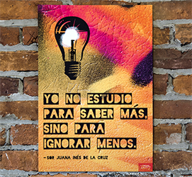 To Know More Spanish Mini-Poster
