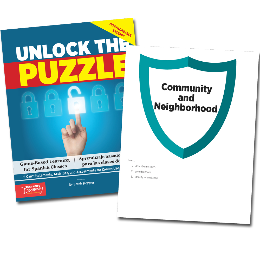 Unlock the Puzzle: Comunidad y vecindario - Book Excerpt Download