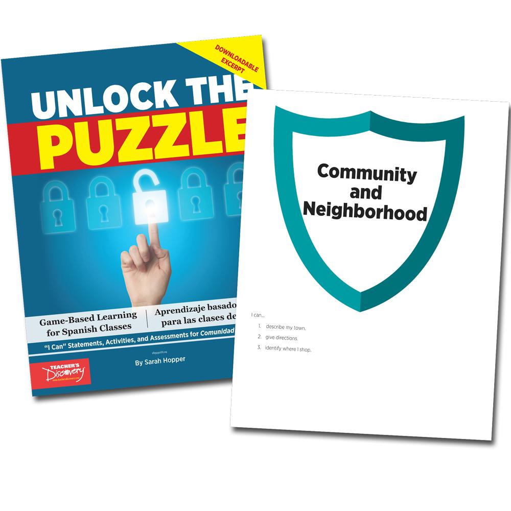 Unlock the Puzzle: Comunidad y vecindario - Book Excerpt Download