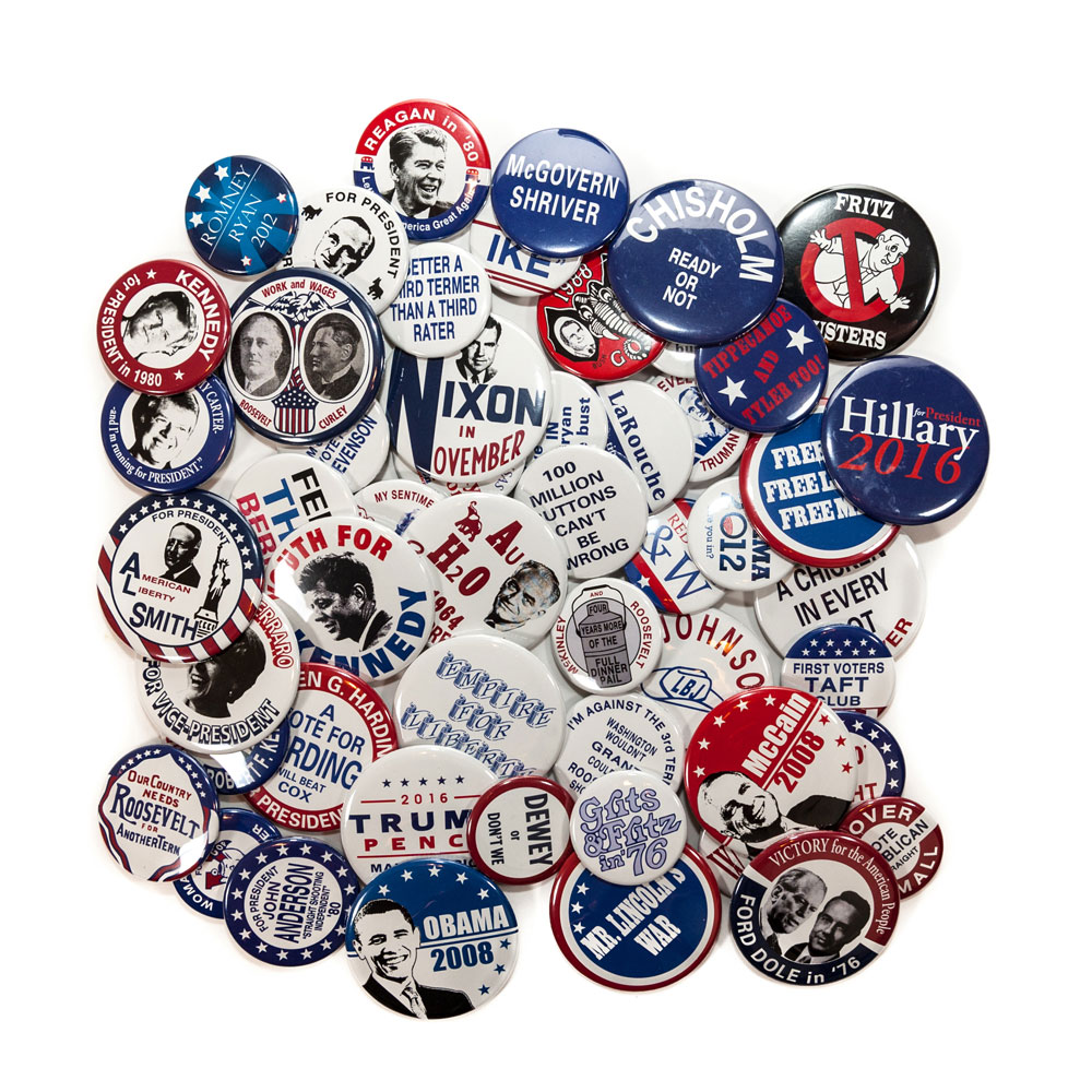 Campaign Buttons - Set of 52