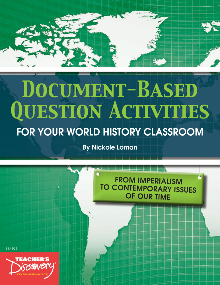 Document-Based Question Activities: Imperialism to Contemporary Issues of Today Book