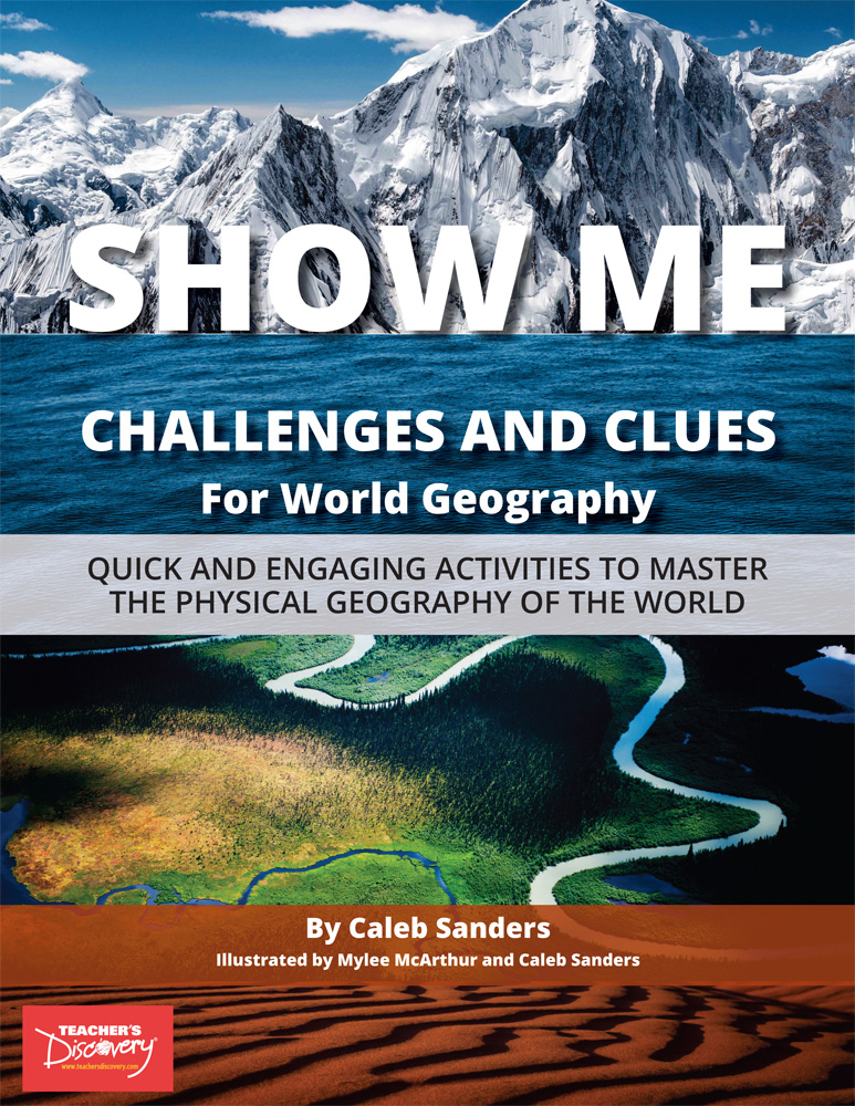 SHOW ME Challenges and Clues for World Geography Book