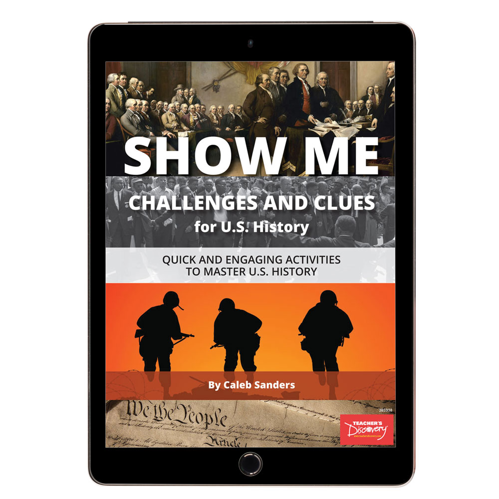 Show Me Challenges and Clues for U.S. History Book