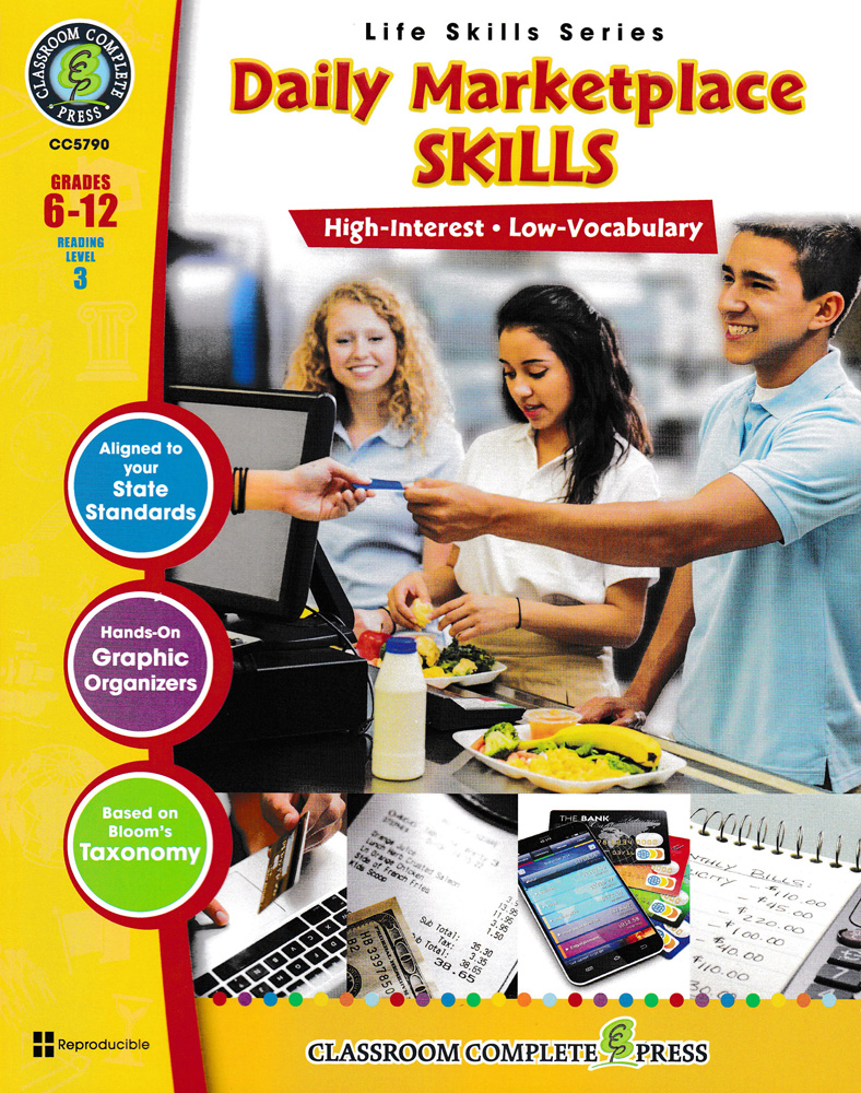 Life Skills: Daily Market Place Skills Book