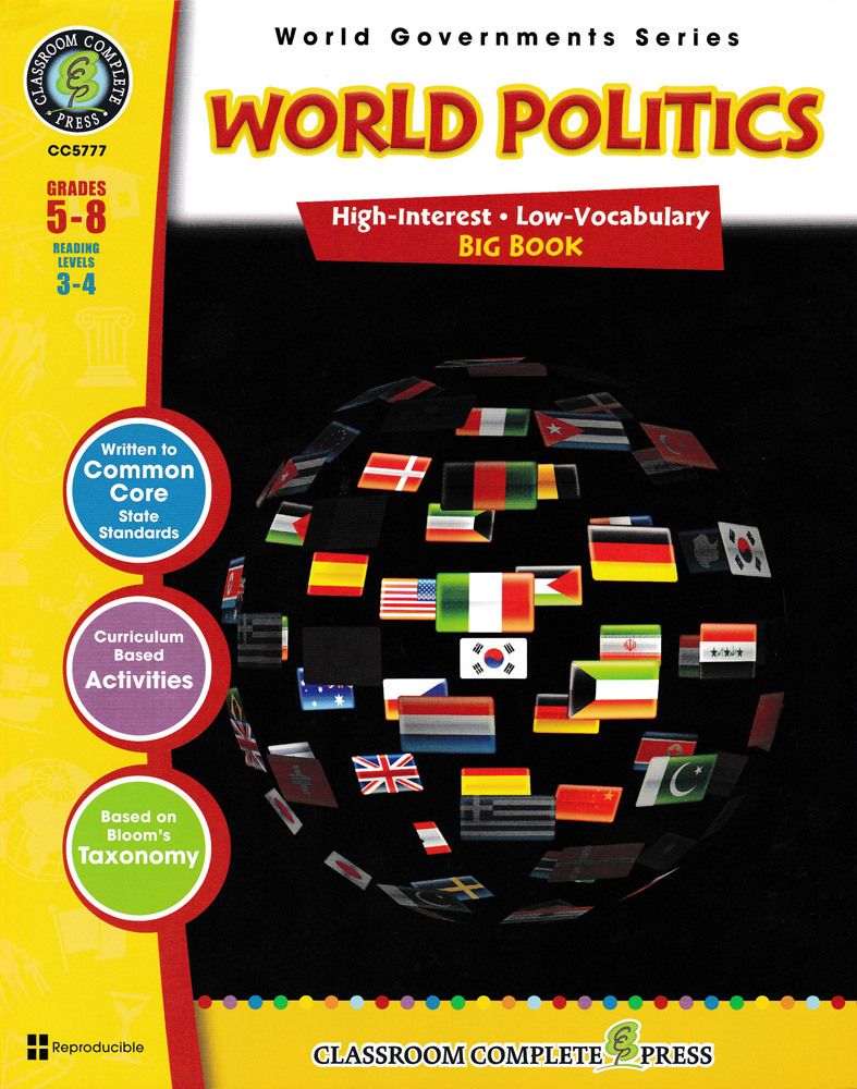 World Governments: World Politics Big Book