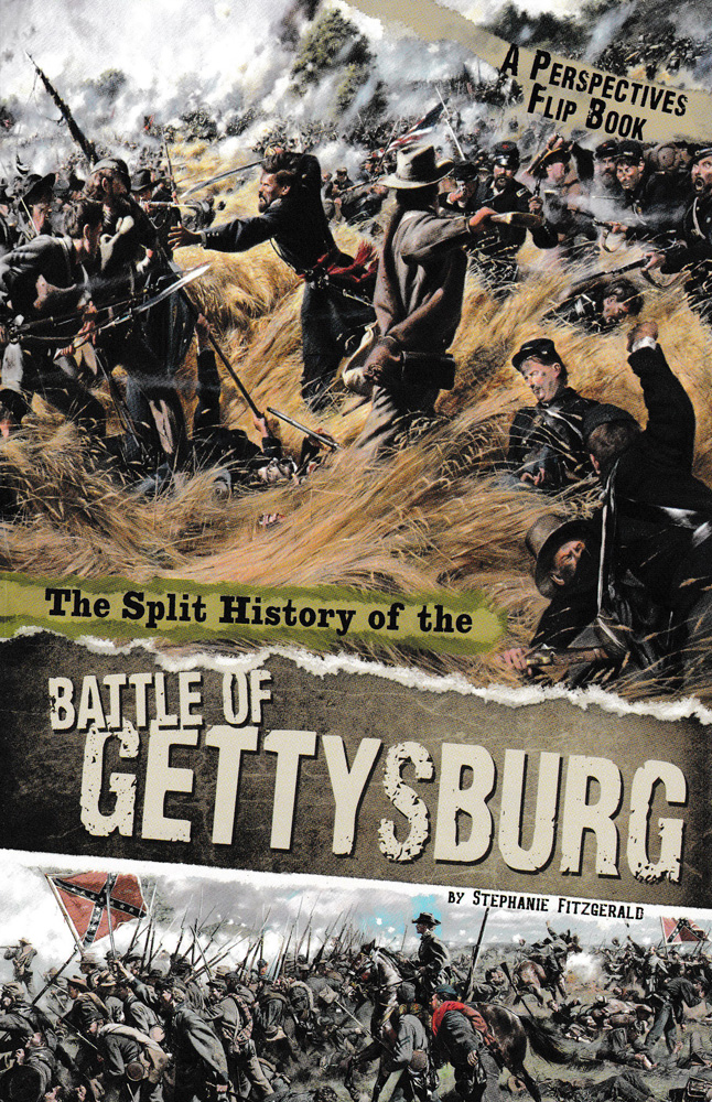 The Split History of the Battle of Gettysburg Book