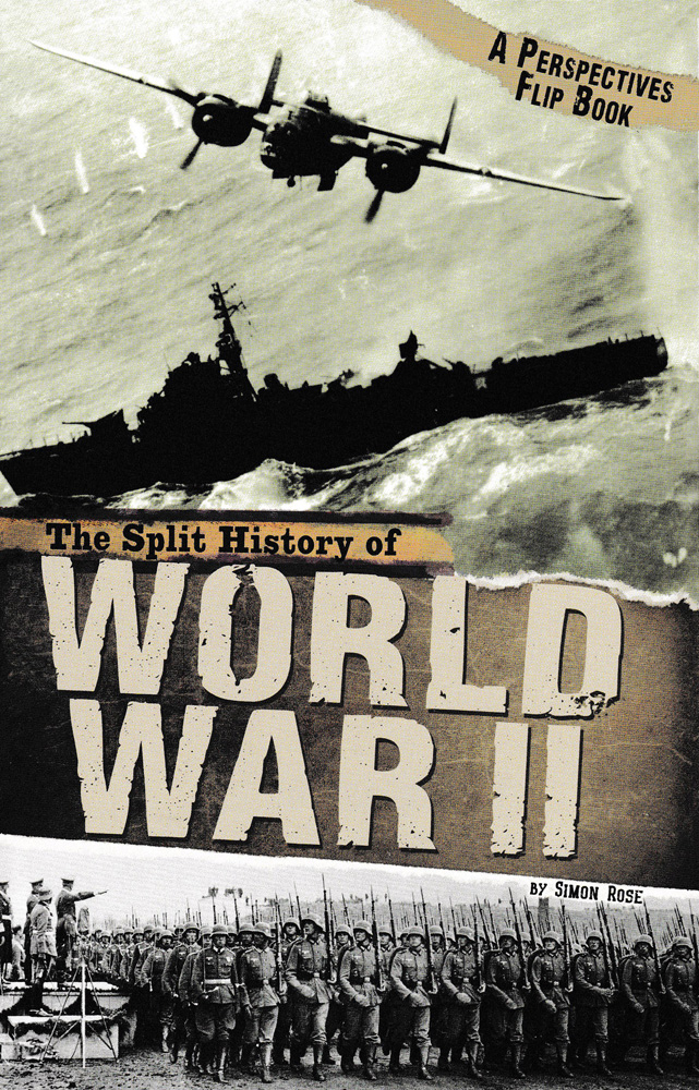 The Split History of World War II Book