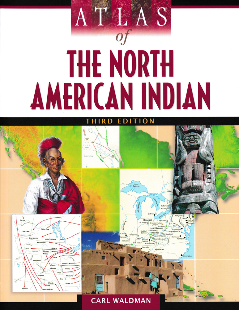Atlas of the North American Indian Book
