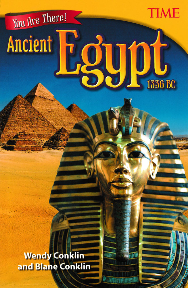 You Are There! Ancient Egypt 1336 BC Book (920L)