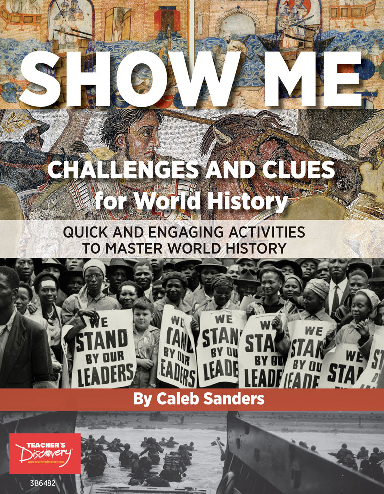 Show Me Challenges and Clues for World History Book