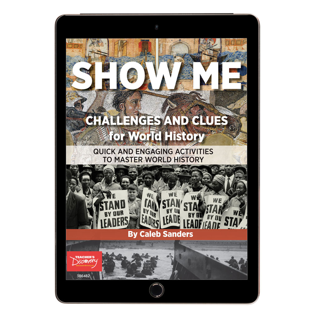 SHOW ME Challenges and Clues for World History Book - SHOW ME Challenges and Clues for World History Print Book