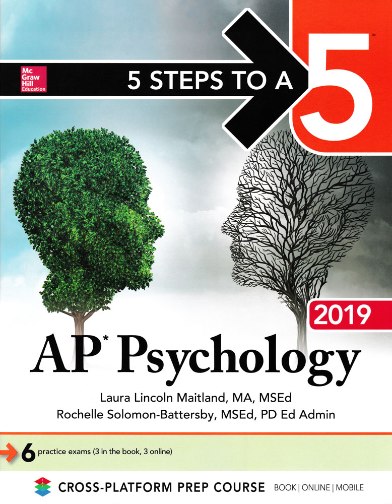5 Steps to a 5 AP Psychology (2019 Edition) Book