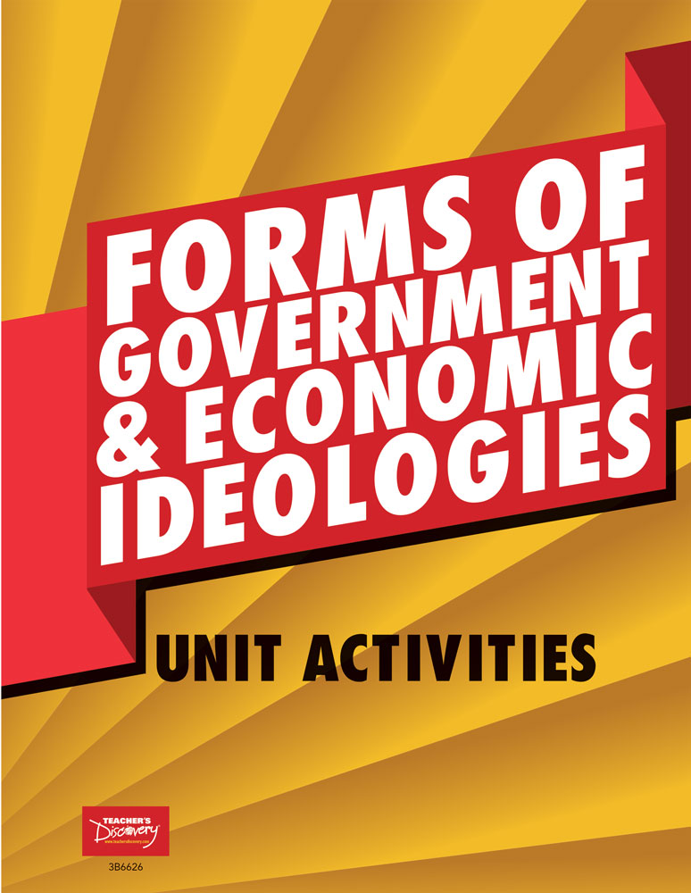 Forms of Government and Political Ideologies Unit Activities Book