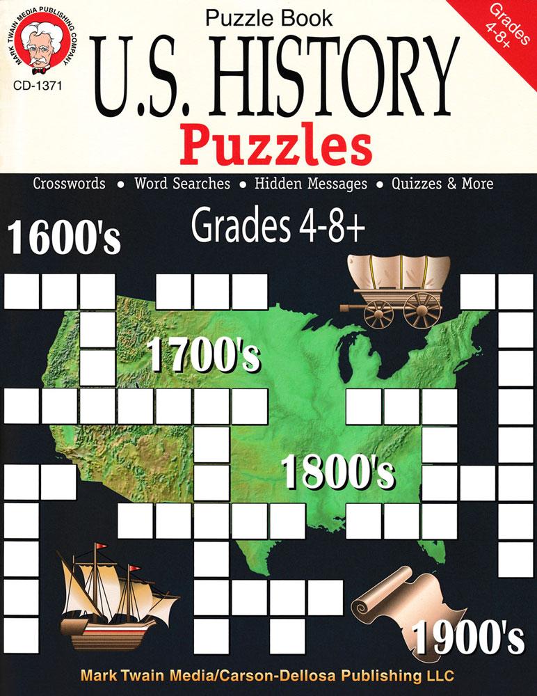 U.S. History Puzzles Book 1