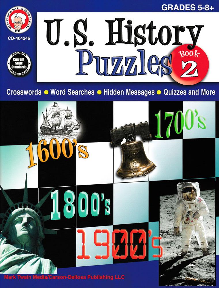 U.S. History Puzzles Book 2