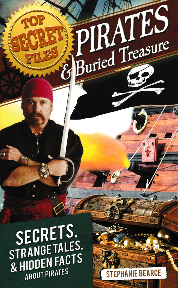 Top Secret Files: Pirates & Buried Treasure Book