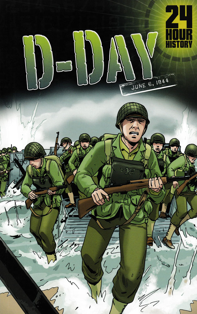 24 Hour History: D-Day Graphic Novel