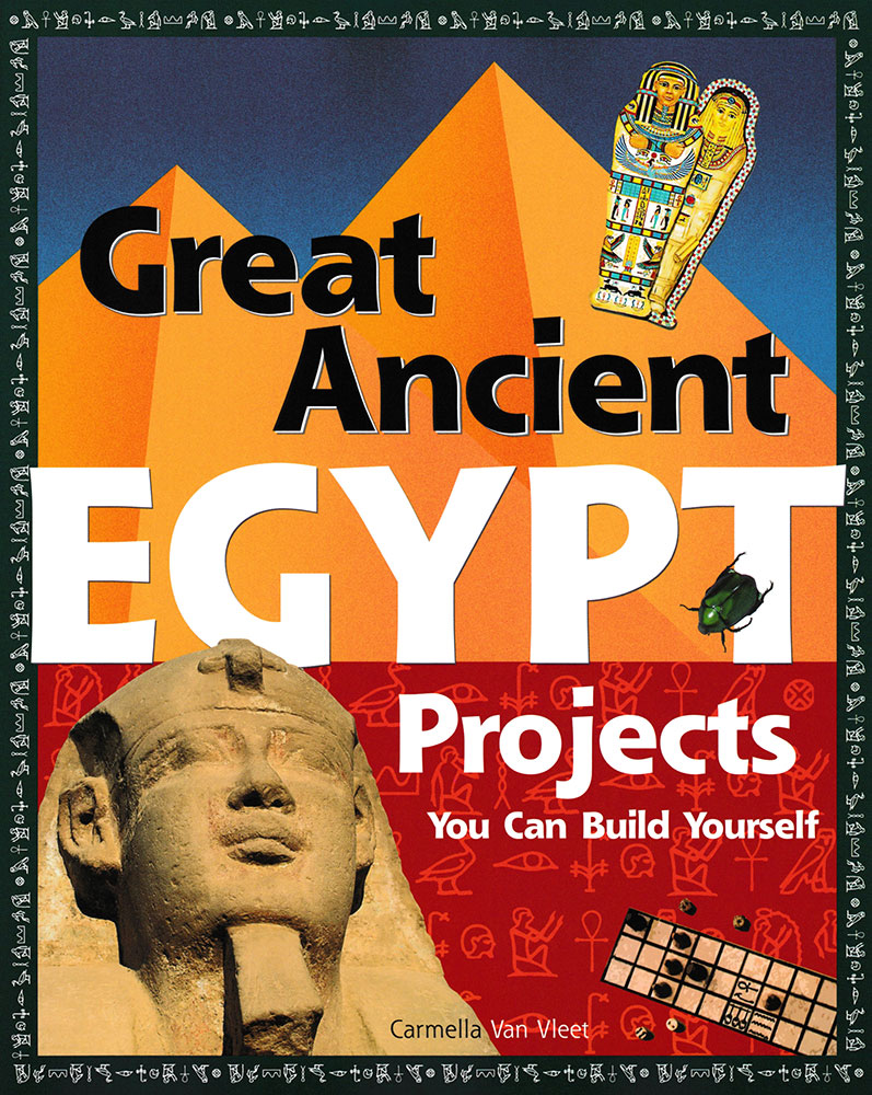 Build It Yourself: Ancient Egypt Book