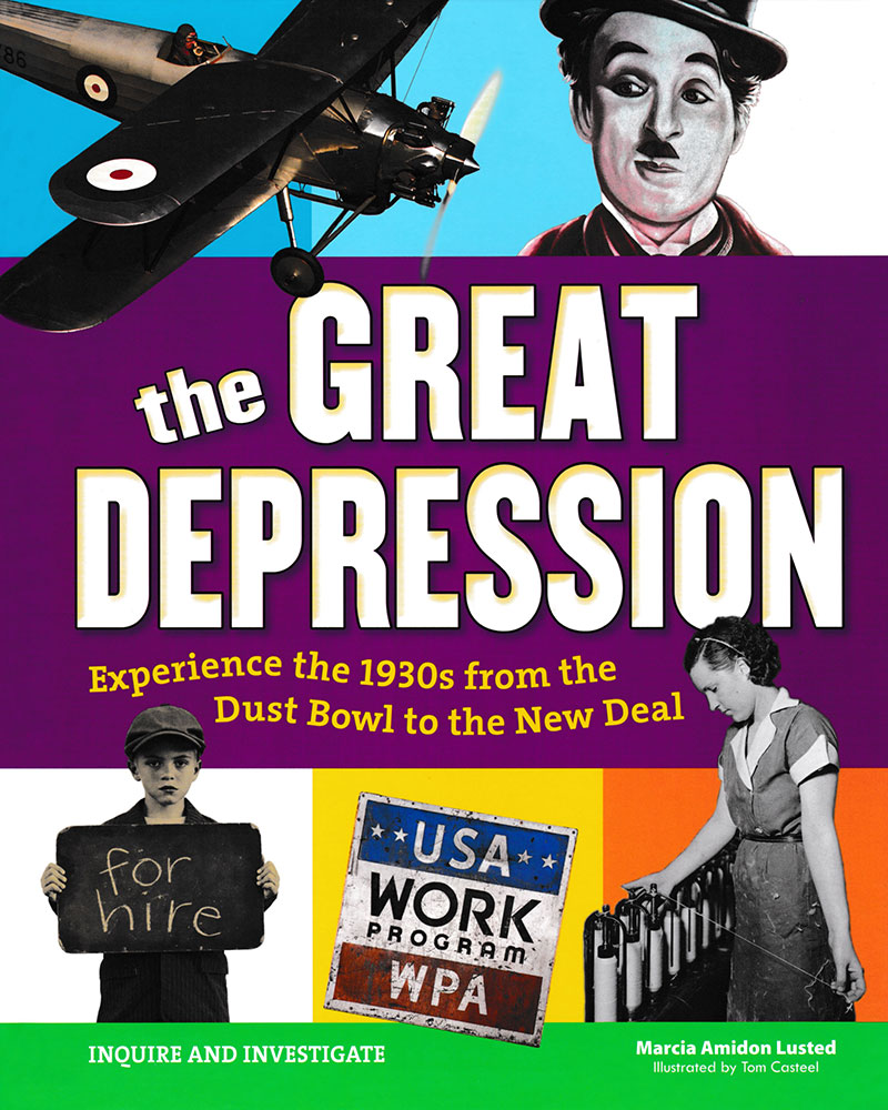 Inquire & Investigate: The Great Depression Book