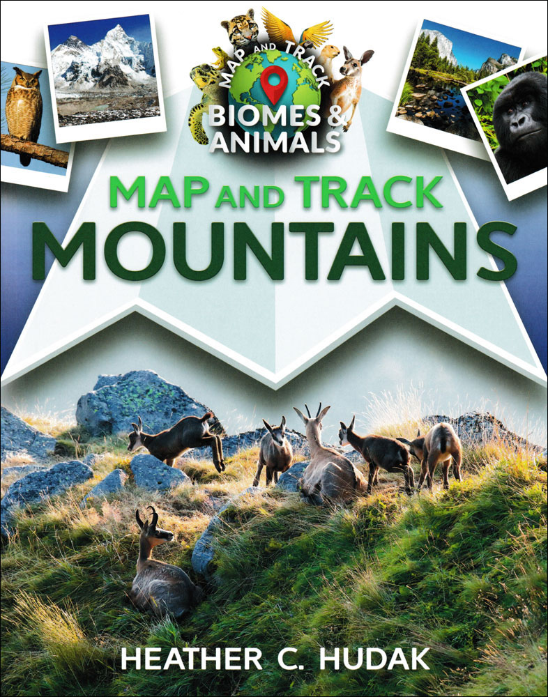 Map and Track Mountains Book