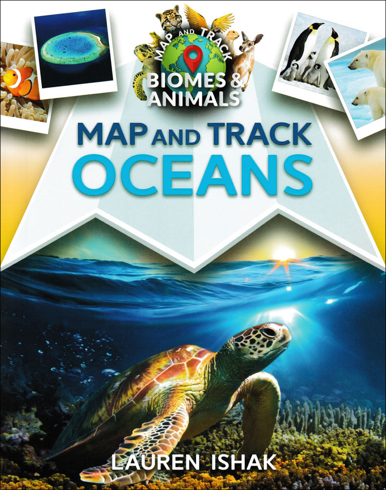 Map and Track Oceans Book