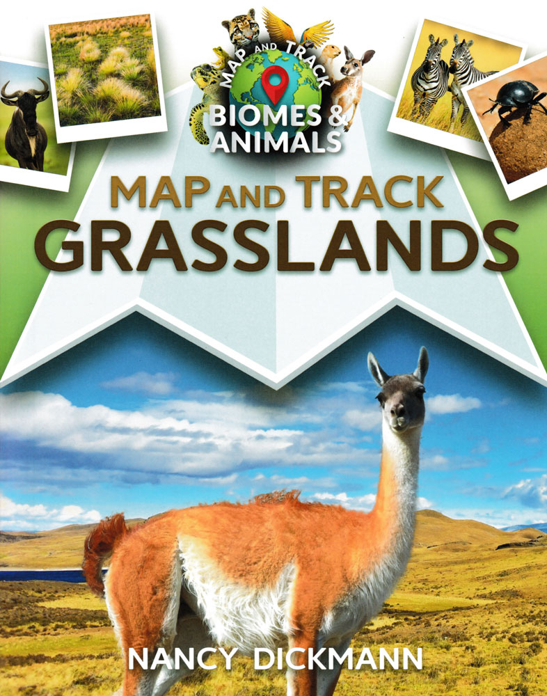 Map and Track Grasslands Book