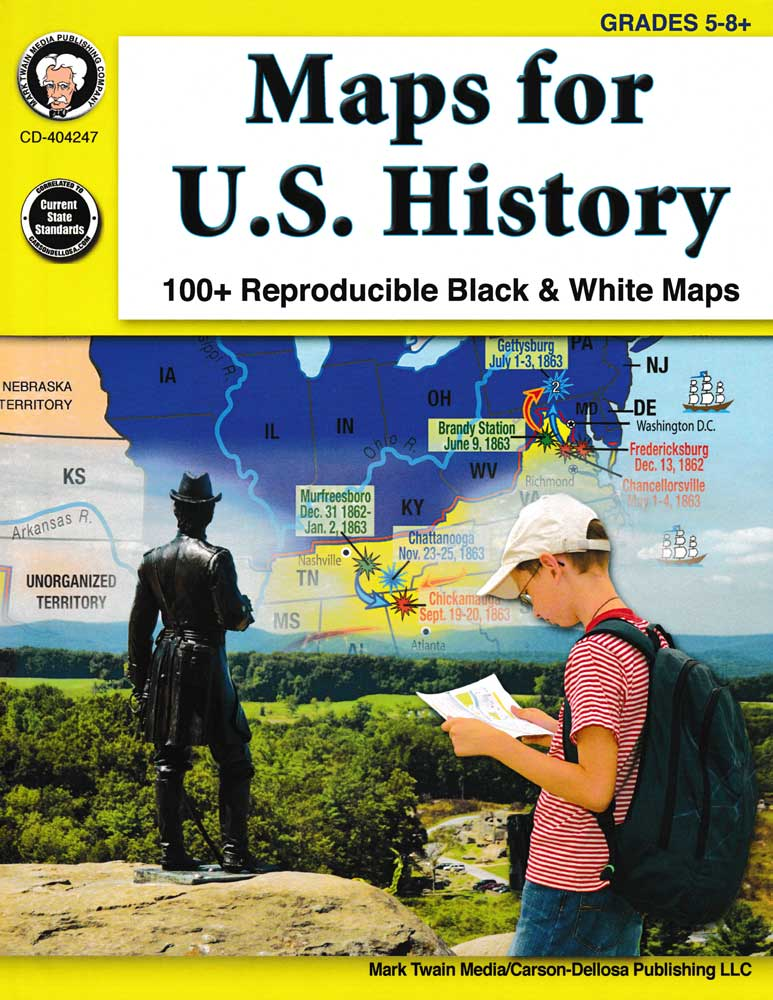 Maps for U.S. History Book
